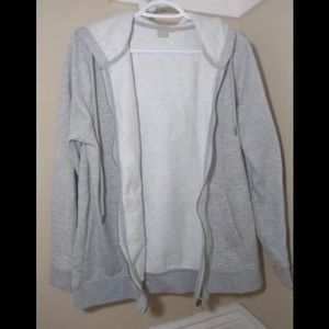 Jackets & Blazers - Light grey sweater